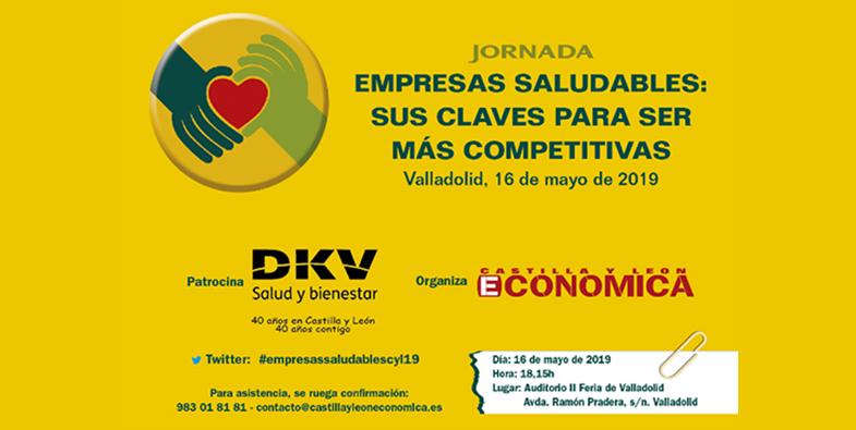 """Jornada """"EMPRESAS SALUDABLES: SUS CLAVES PARA SER MÁS COMPETITIVAS"""""""